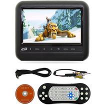 Dvd Player Pra Carro Tela Encosto Cabeça 7 Lcd Com Game Usb
