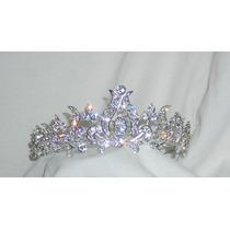 M4 Corona Tiara Diadema Peineta Para Novia O Fiesta