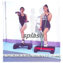 Step Para Aerobics De 60cm Con Artículo De Regalo, Ejercicio