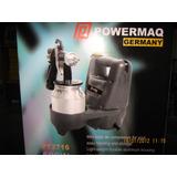 Pistola Para Pintar Powermaq Germany Metálica Compresor 500w