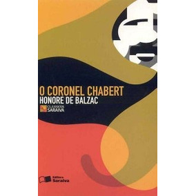 O Coronel Chabert. Livro De Honoré De Balzac. Paradidático.