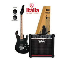 Combo Guitarra Skp Pro Stage + Amp Peavey Rage 158