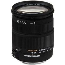 Lente Sigma 18-200mm F3.5-6.3 Dc Os Para Canon
