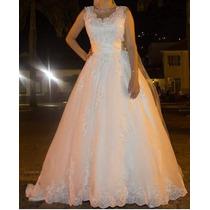 Vestido De Noiva Modelo 2 Em 1 Princesa Alto Padrão