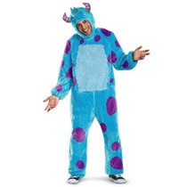 Disfraz Sulley Monster Inc Traje Hombre Adulto Halloween