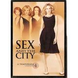 Dvd - Sex And The City - 4ª Temporada- Novo Original Lacrad0