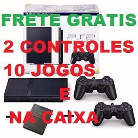 Playstation 2 Desbloqueado Controles + Memory Card + Jogos