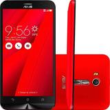 Smartphone Asus Zenfone Go Live Vermelho 16gb Tv Digital Tel