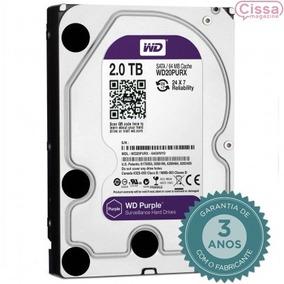 Oferta Hd Interno Wd Purple 2tb C/ Nota Fiscal 5400 Rpm