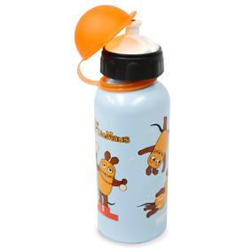 Termo/botella De Aluminio Con Motivo Infantil-ratones.