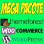 Mega Pacote - Temas Plugins Wordpress E Woocommerce - 2017