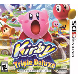 Kirby: Triple Deluxe Juegos 3ds Delivery