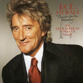Rod Stewart Thanks For The Memory Songbook 4 Cd Oferta Nuevo