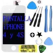 Pantalla Display Iphone 4 Y 4s Touchscreen Original + Regalo