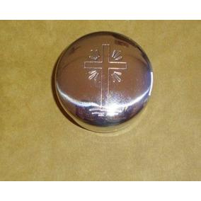 Teca De Metal Inox Simples P/ministros Da Eucaristia