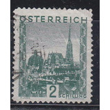 Austria 1929 / 31 Antiguo Sello Yvert N° 389 Usado