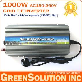 Inversor Grid Tie 1000w Dc 10,5v~28v P/ Ac 110v Ou 220v