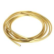 2,7m Friso U Dourado Tanque Paralamas Porta Custom