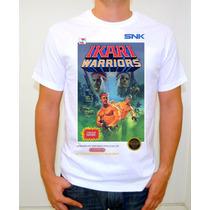 Ikari Warriors Nes Playera Gamer Retro Vintage Nintendo