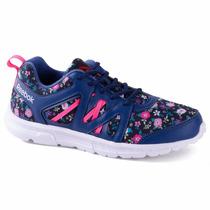 Zapatillas Reebok Speedlux W Mujer Azul Floreado