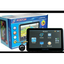 Gps Foston Fs 717 Tela 7 Tv Digital Com Camera De Ré Full Hd