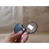 Lupa Monoculo Lente Vidro Óptico Aument 10x Nova Import Disp