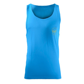 Musculosa Reef Contrasted Palm Hombre Azul