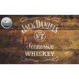 Molde Vazado Stencil - Jack Daniels