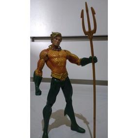 Boneco Action Figure Aquamen Dc Liga Da Justiça