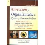 Dirección Y Organización Pymes Y Emprendedores Buyatti