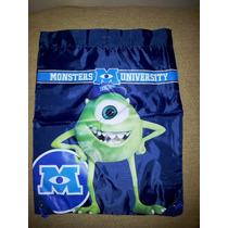 Monsters University Mochila Morral Primaria,guardería,kinder