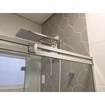 Kit Box Banheiro Onix F1 1,50m Vidro Temperado Sem Vidro