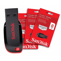 Pendrive Sandisk 8gb Mayor Detal Usb Original Blister Nano
