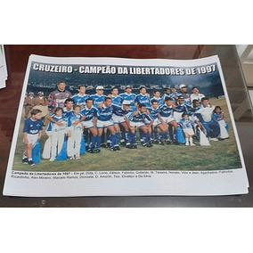Poster Do Cruzeiro - Campeão Da Libertadores De 1997