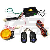 Alarma Dze Con Arranque A Distacia + 2 Controles - Fas Motos
