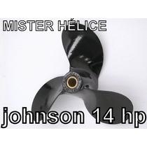 Hélice Motor De Popa Johnson 14hp Estriada Original Sorabo