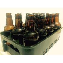 Cesta Engradado Caixa P/ 15 Vasilhames Cerveja 300 Ml Preto