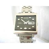 Relógio Seiko Quadrado Automático 6119-5000 Calendário Japan