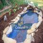 Lona Plástica 3 X 4 Lago Azul Tanque Peixes Psicultura 300mi