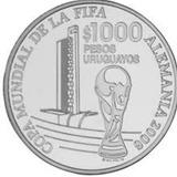[sc] Uruguay 1000 Pesos 2005 Fifa (copa) Envio Gratis!!