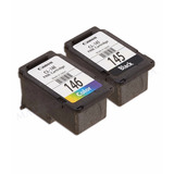 Pack 2 Cartucho Negro Y Color Canon 145 Y 146 Originales