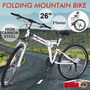 Bicicleta Plegable Montaña Bicicleta 26 21 Velocidad Suspe