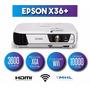 Proyector Epson Powerlite X36+ 3600 Lumenes + Dongle Wifi