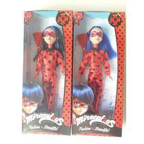 Boneca Miraculous Fashion Beautiful Ladybug Desenho Infantil