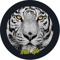 Capa Roda Estepe Ecosport- Wild Life- Vida Selvagem- Tigre