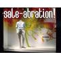 Vinilos Ploteo Vidrieras Liquidacion Sale Rebajas. 150x30cm