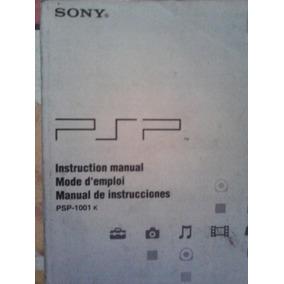 Psp Manual De Instrucciones, Sony