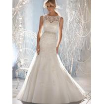Exclusivo Vestido De Noiva Sereia! Importado!