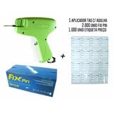 Kit Pistola Aplicador Tag + 2.000fixpin + 1000preço Envio Já