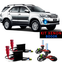 Kit Xenon Hb4 8000k Para Farol Milha Hilux Sw4 2006 A 2012